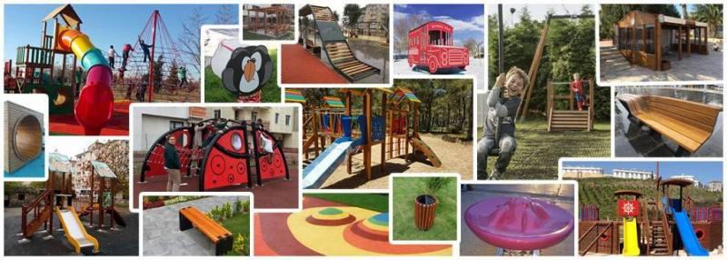 Top 4 kids playground equipment slide swing outdoor sets suppliers in turkey