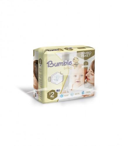 Halitlar bumble baby jumbo mini diapers no-2 1523435701 3-6 kg 80 count