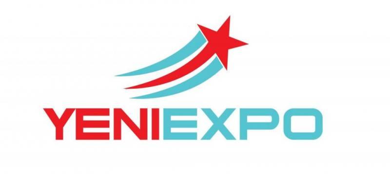 Yeniexpo türkiye'de yükselen yıldız yeni logo stili