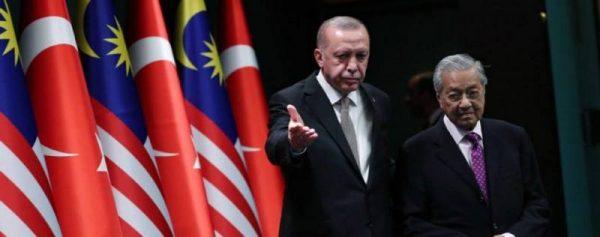 مبادرة طرحها رئيس الوزراء الماليزي مهاتير محمد تدعو إلى التعاون بين تركيا  وماليزيا وباكستان واندونيسيا وقطر