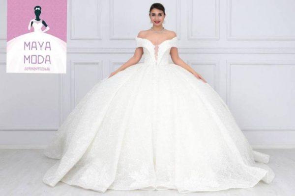 Wholesale moda maya wedding dress yeniexpo