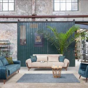 Godina Tuana 2520 Living Room Sofa Set Home Furniture Wholesale Export Turkey