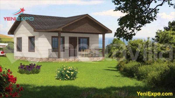 Prefab steel small home cabin nvil