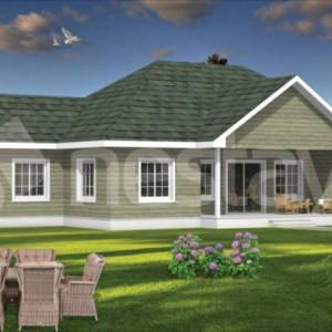 Prefabricated Steel Family Home House Nestavilla Willow 214 m2