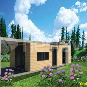 Modular Prefab House Nestavilla Sukulent 30.90 m2