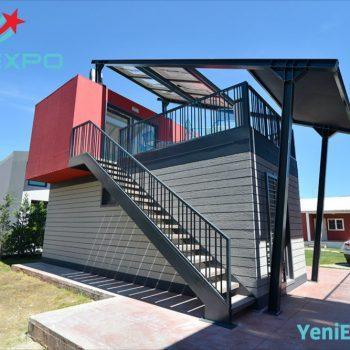 Modular prefab house nvilla violet 23 m2