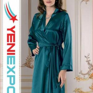 Women Silky Soft Satin Nightgown R