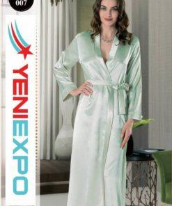 Women bridal bridesmaid robe dress