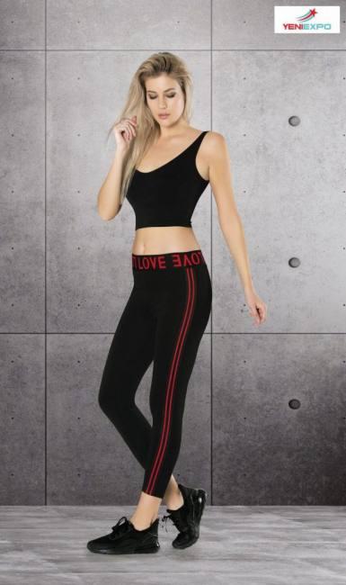 Yeniexpo women lady leggings pant scaled