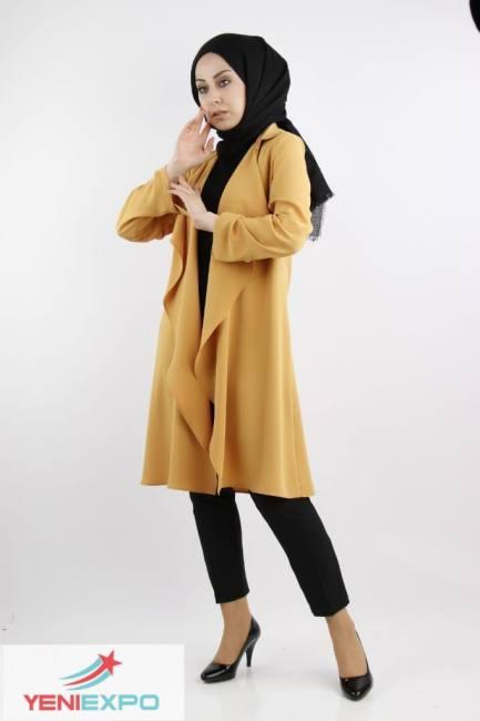 Women chic long sleeve long length