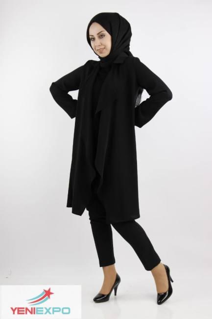Women chic stylish long sleeve lon