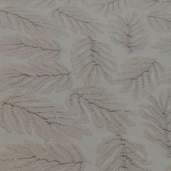 Metallic jacquard textile fabric g