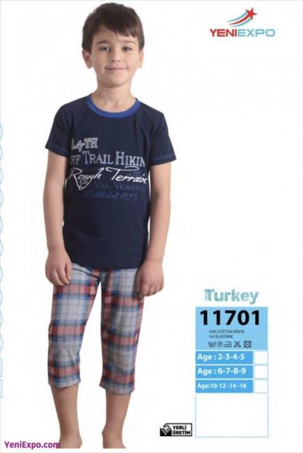 Yeniexpo kids pajamas export turkey