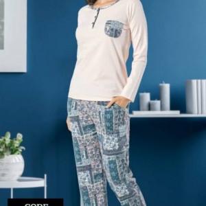 Women comfy soft sleepwear 2517uk
