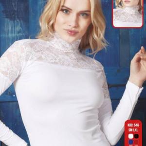 Women  chic  long sleeve  tops  54