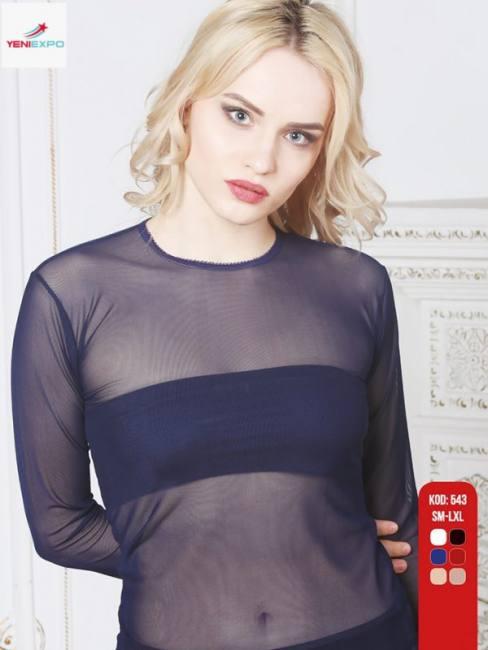 Women fancy long sleeve  tops  554