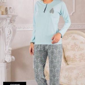 Yeniexpo women lady soft comfy sleepwear pajama27