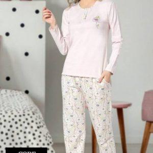 Yeniexpo women lady soft comfy sleepwear pajama4 1