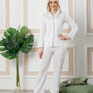 Yeniexpo women lady soft comfy sleepwear pajama5 1