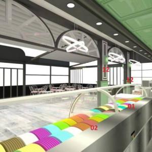 New Frozen YOGURT Shops Design and