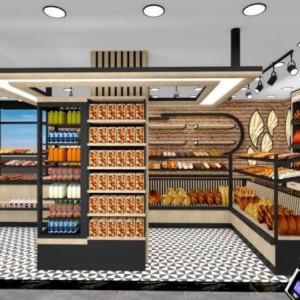 New Cake Bakery Shop Turnkey Desig