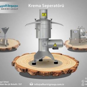 New Milk CREAM Separator Machine AlHariri LionMak 2021