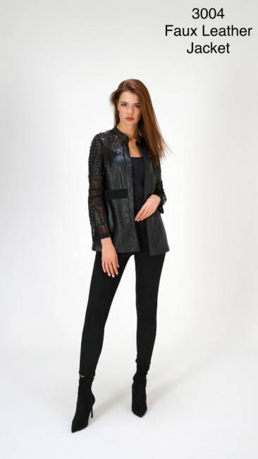 Leather jackets stylish casual bla