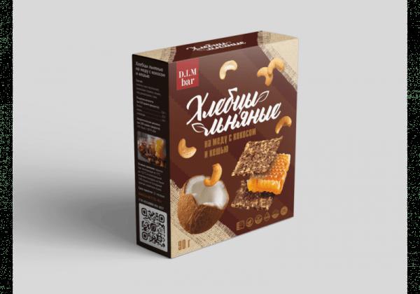 Cereal bars honey coconut cashew d