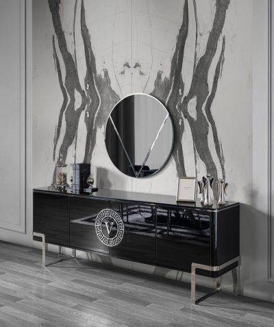 Versace dining set furniture moder