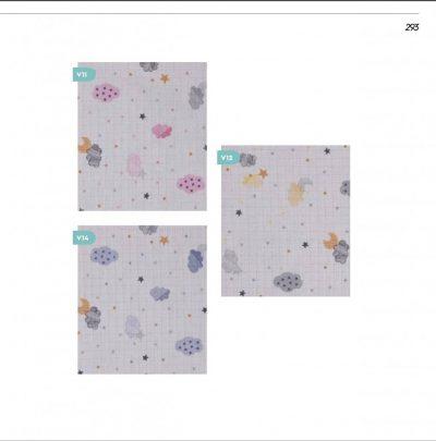High quality muslin fabric babay c
