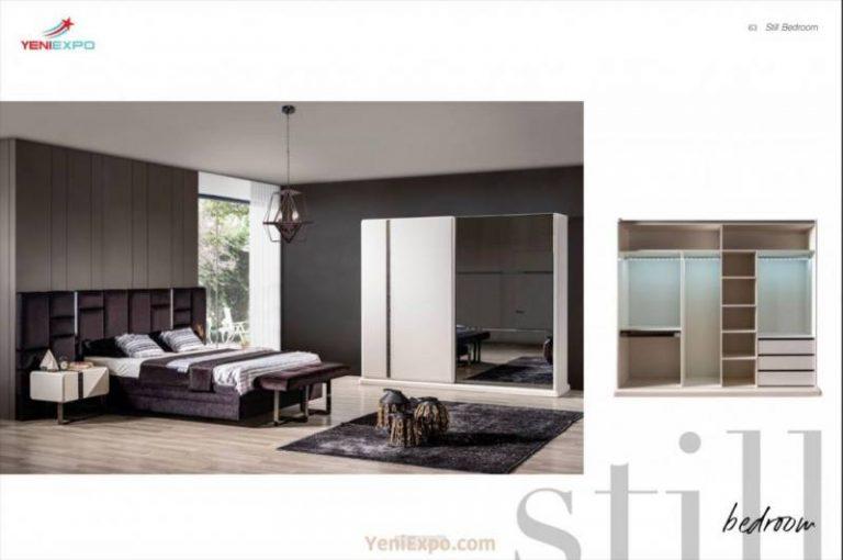King bed furniture sets stil moder