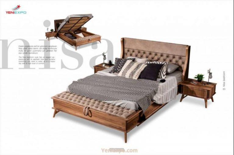 Nisa queen bed furniture sets mode
