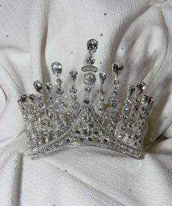 Alexandra wedding crowns crystal s