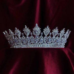 Victoria Princess Crown Modern Zirconium Stones NEW 2020