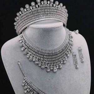 Selena Bridal Sets Gorgeous Fully Made Zirconium Stones 2020