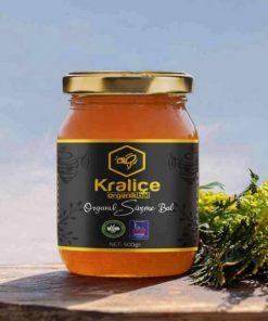 Kraliçe flower honey healthy orga
