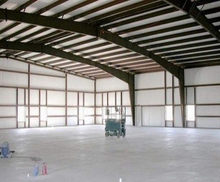 Metal hangar building high quality