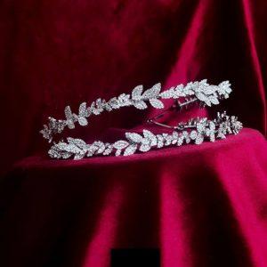 Isabela Headband Stylish Modern Zirconium Stones NEW 2020