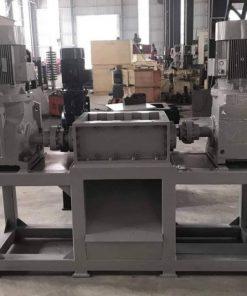 Industrial metal shredder machine