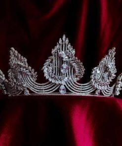 Juliet wedding crown stylish moder