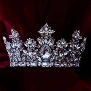 Olivia Wedding Crowns Stylish Modern Zirconium Stones NEW 2021