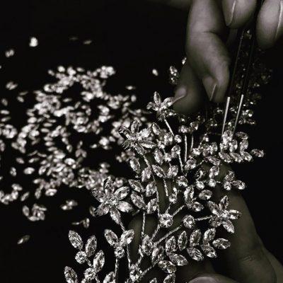Stunning brides necklace & ea