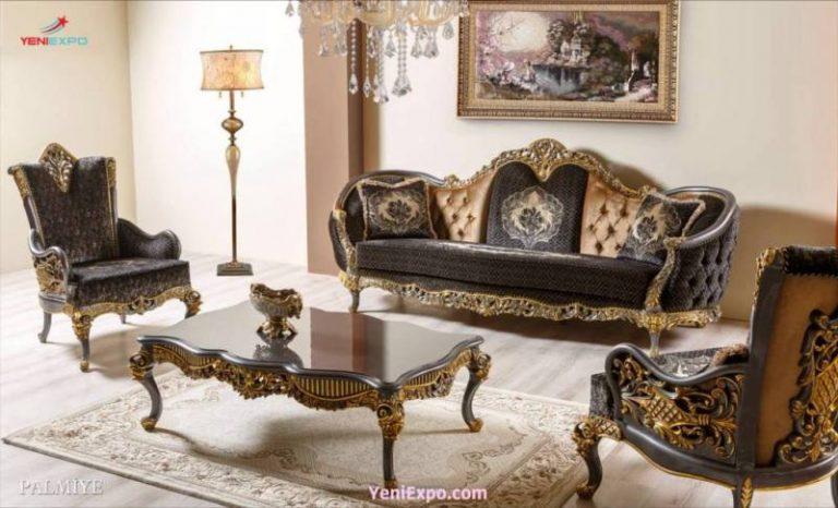 Palmiye classical dining table set