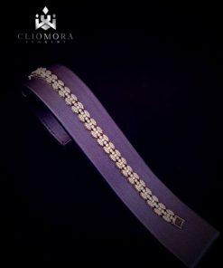 Lively cliomora bracelet cz cubic