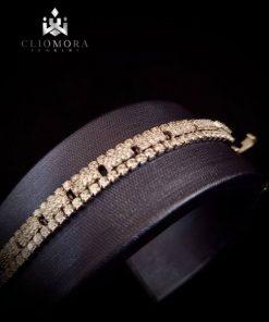 Powerful cliomora bracelet cz cubi