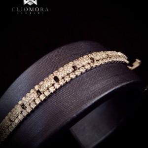 Powerful Cliomora Bracelet CZ Cubic Zirconia ZKB72