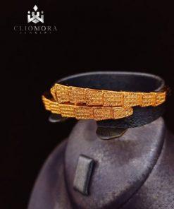 Rare cliomora bracelet cz cubic zi