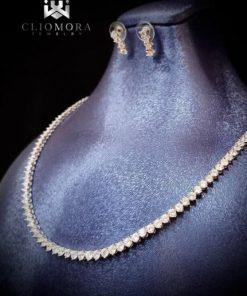 Terrific cliomora diamond necklace