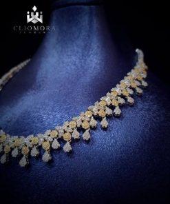 Limited jewelry set cliomora cz cu