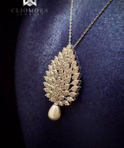 Chic jewelry set cliomora cz cubic